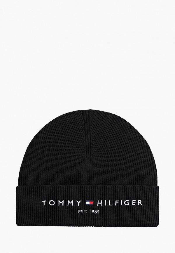 Шапка Tommy Hilfiger черного цвета