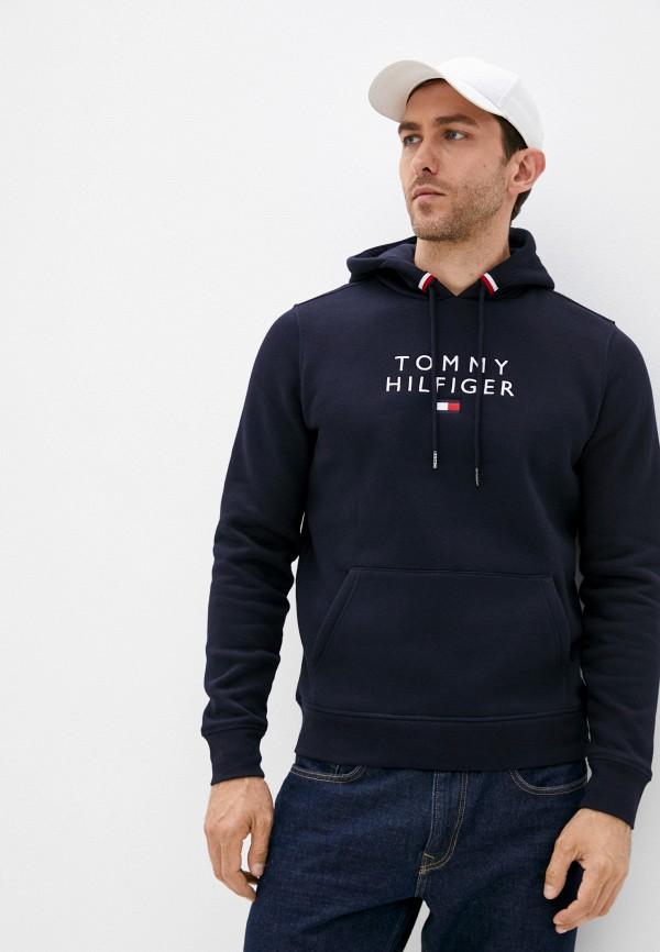 Худи Tommy Hilfiger синего цвета