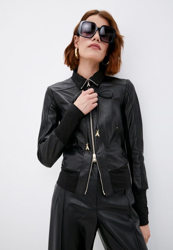 женская куртка patrizia pepe, черная