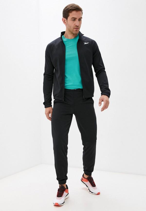 мужской спортивный костюм reebok, черный