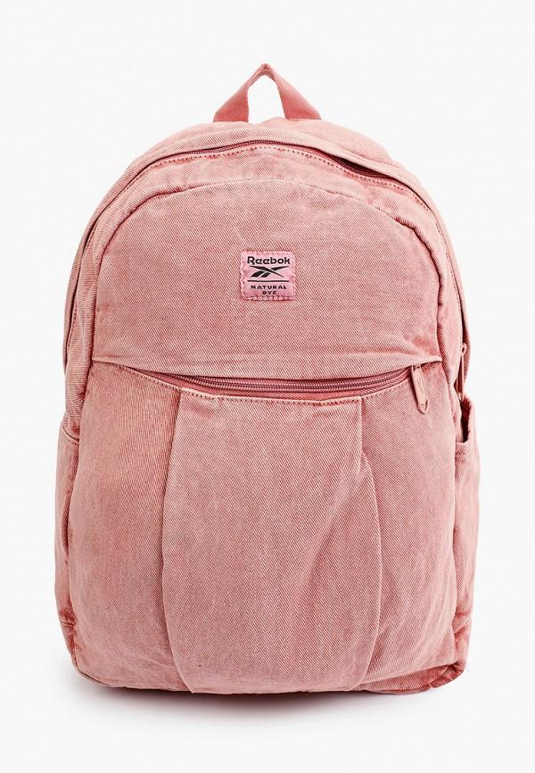 женский рюкзак reebok classic, розовый