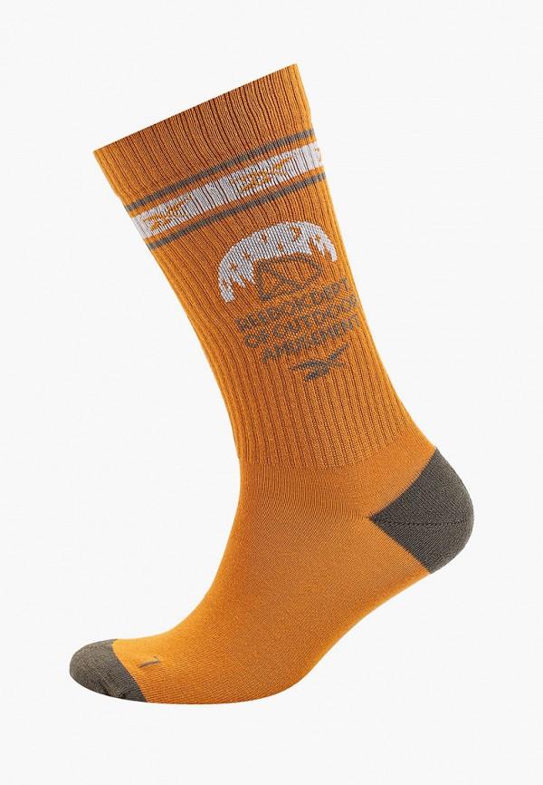женские носки reebok classic, оранжевые