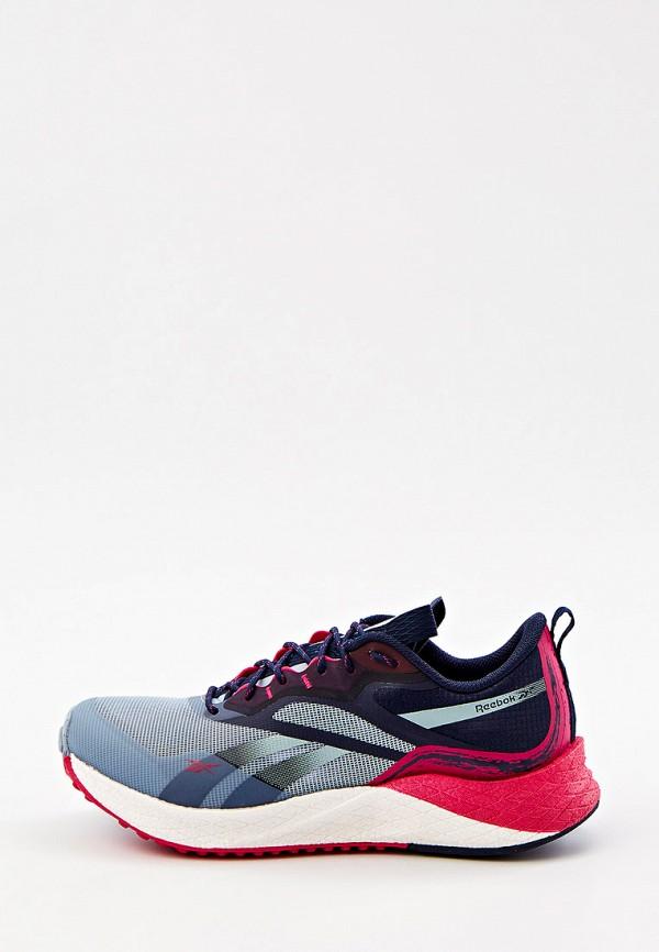 женские низкие кроссовки reebok, разноцветные
