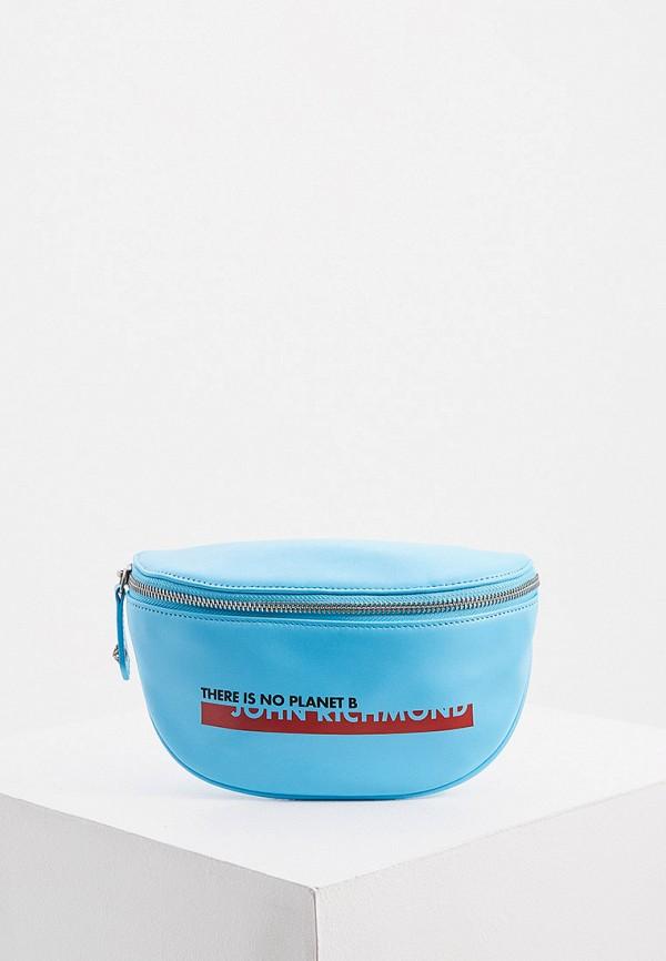 женская поясные сумка john richmond, голубая