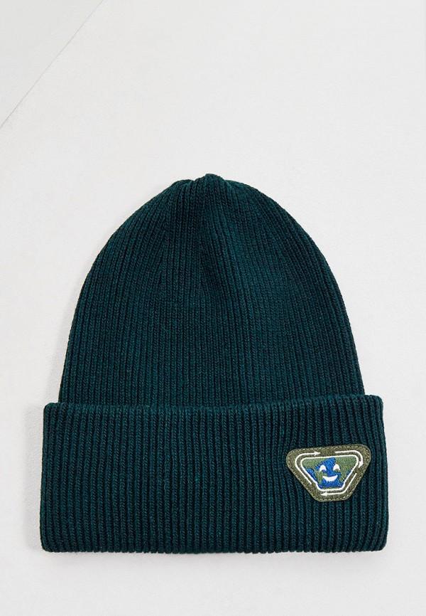 шапка emporio armani для мальчика, зеленая