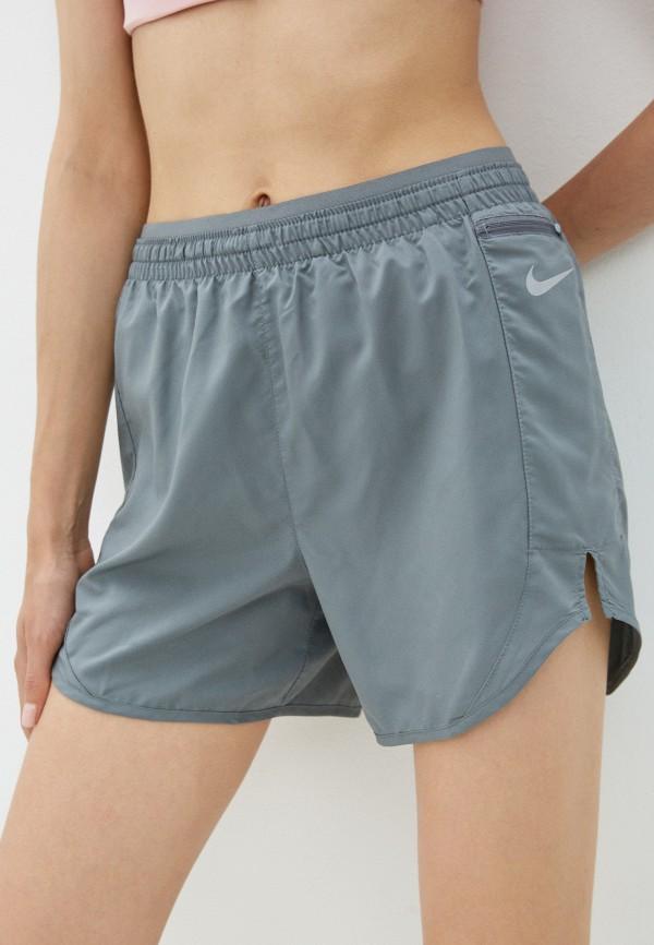 женские спортивные шорты nike, серые