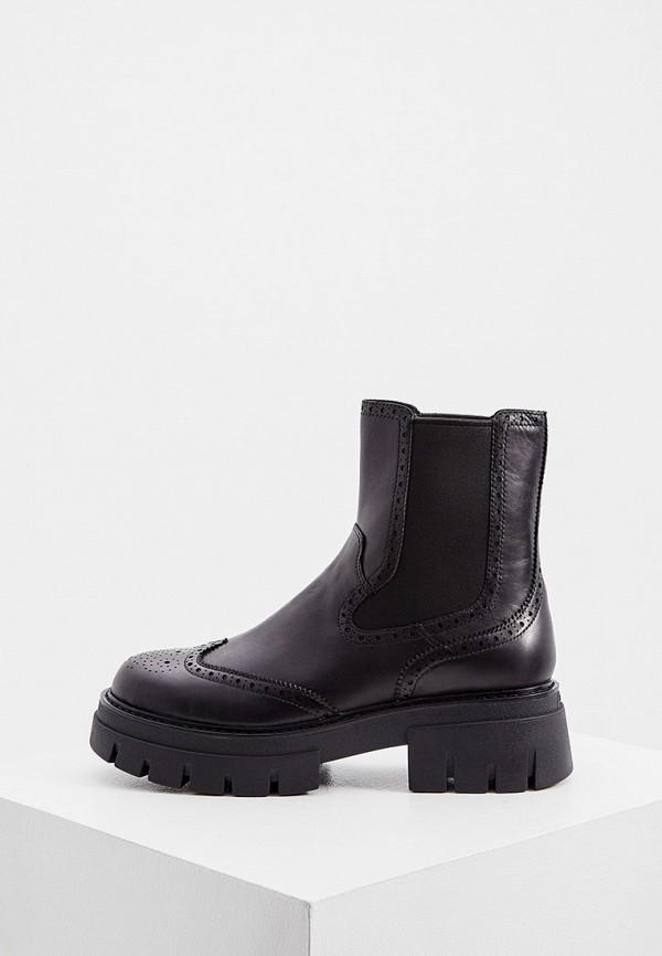 женские ботинки-челси ash, черные