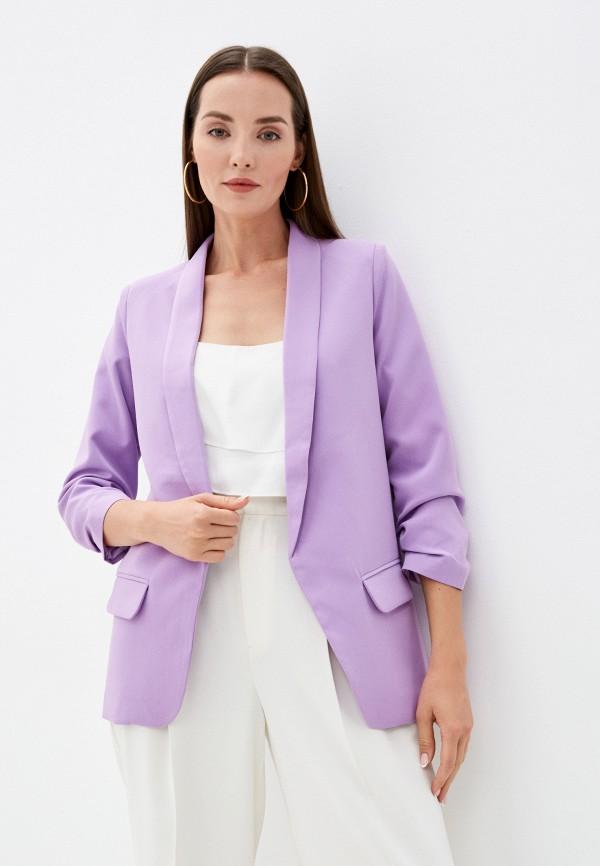 женский жакет imocean, фиолетовый