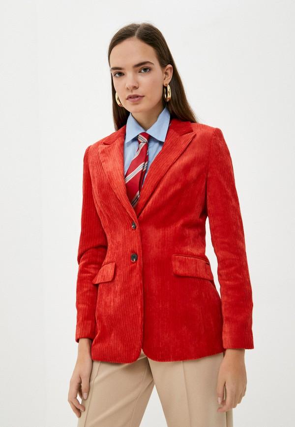 женский пиджак taifun, красный
