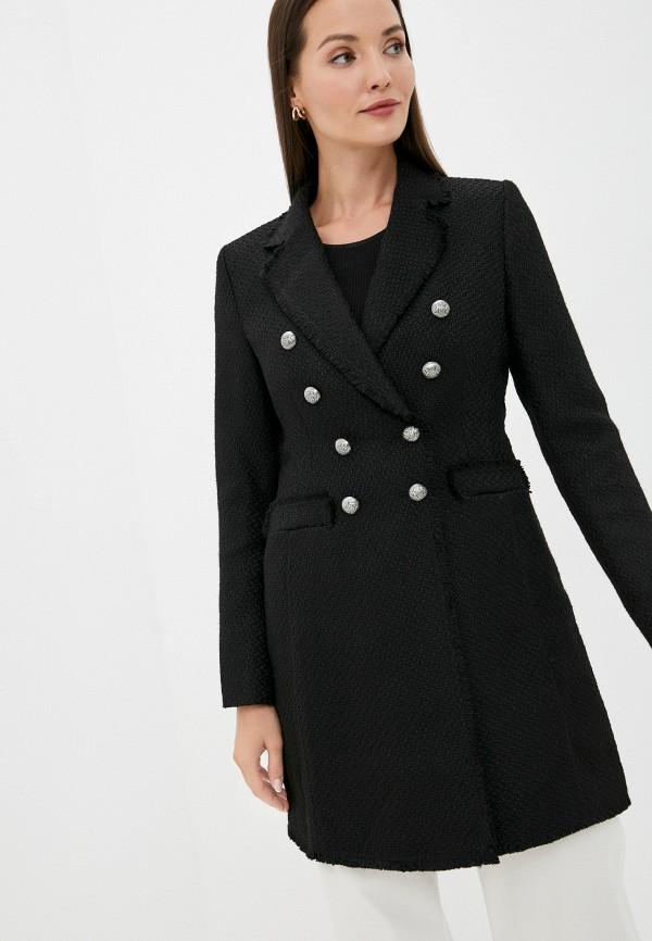 женское пальто taifun, черное