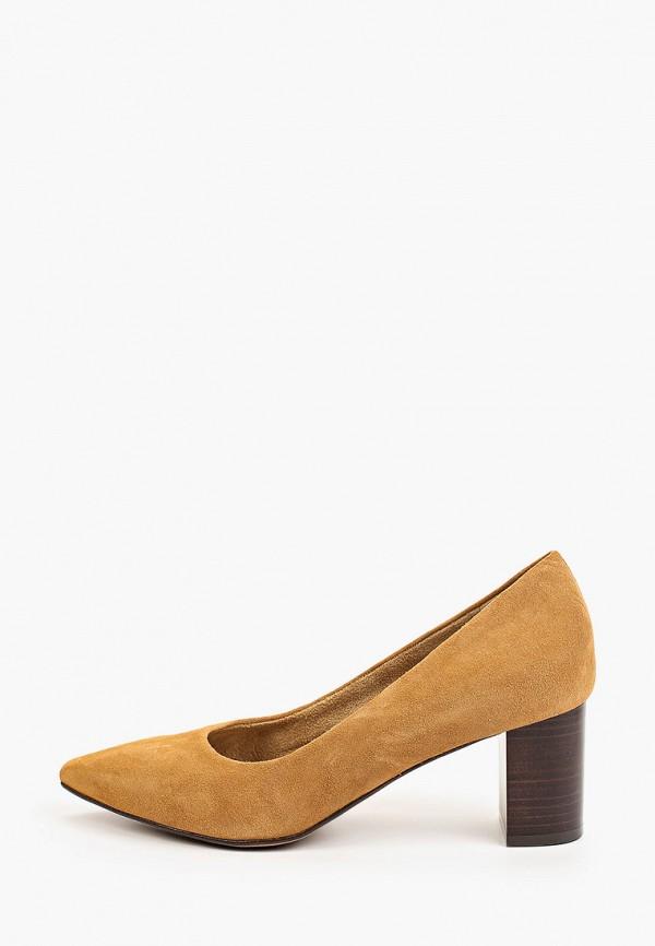 женские туфли tamaris, оранжевые