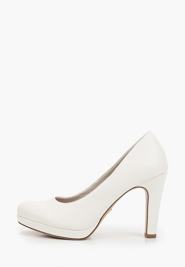 женские туфли tamaris, белые