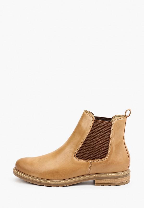 женские ботинки tamaris, бежевые