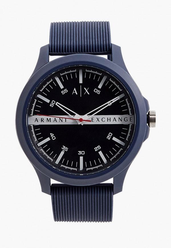 мужские часы armani exchange, синие