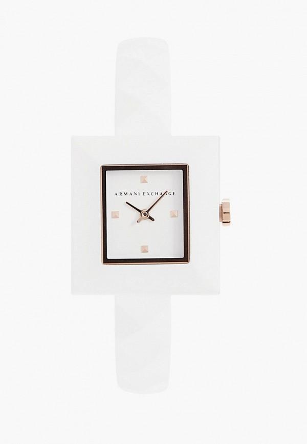 женские часы armani exchange, белые