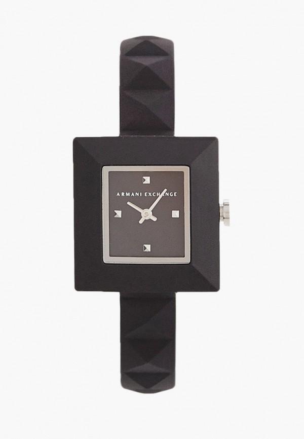 женские часы armani exchange, черные