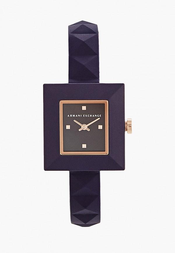женские часы armani exchange, синие
