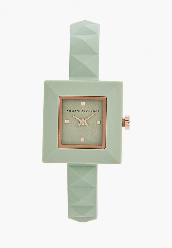 женские часы armani exchange, бирюзовые