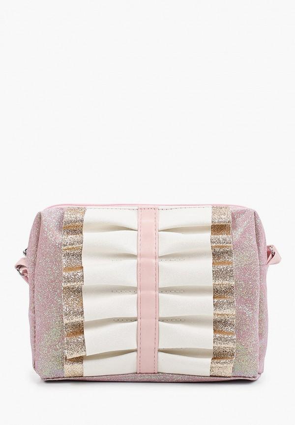 сумка united colors of benetton для девочки, розовая