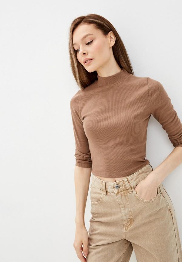женский топ lakressi, коричневый
