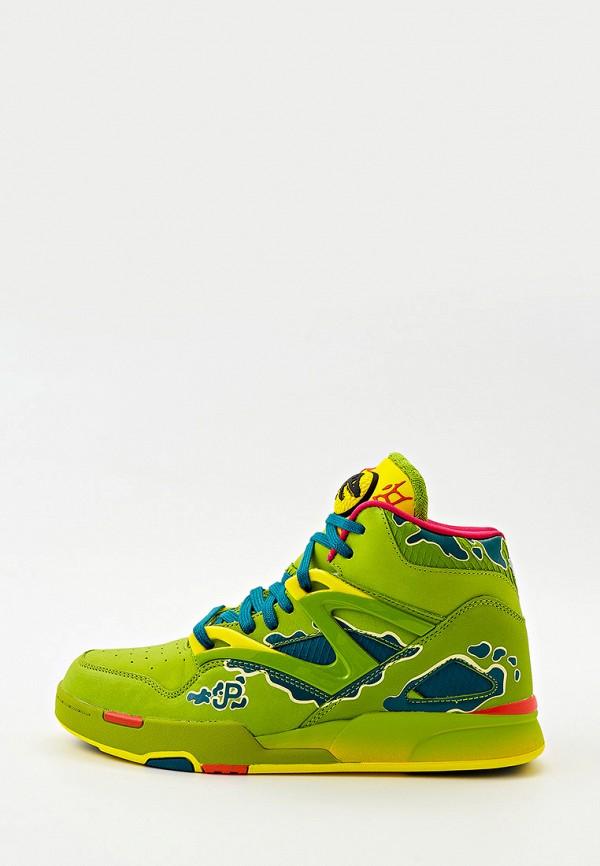 мужские кроссовки reebok classic, зеленые