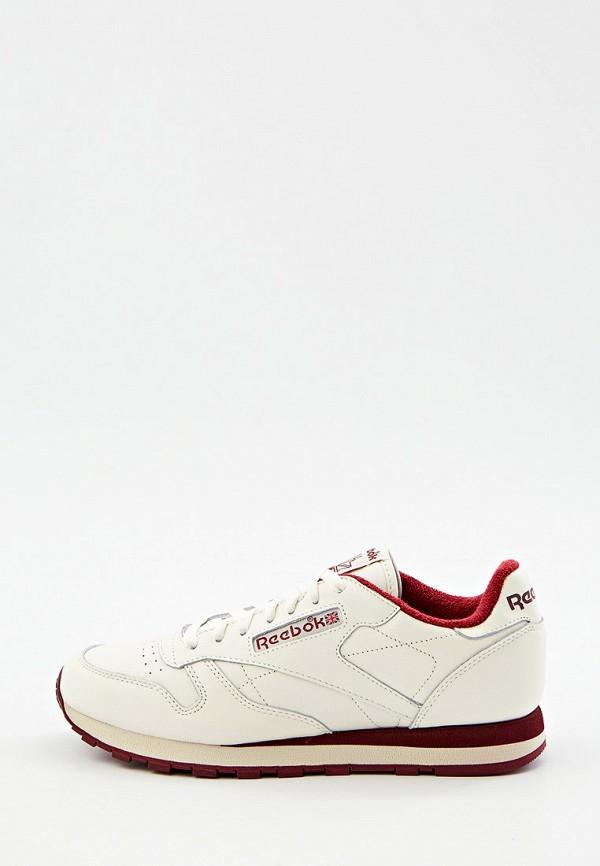 мужские кроссовки reebok classic, бежевые