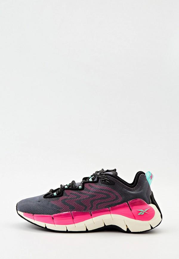 женские низкие кроссовки reebok, серые