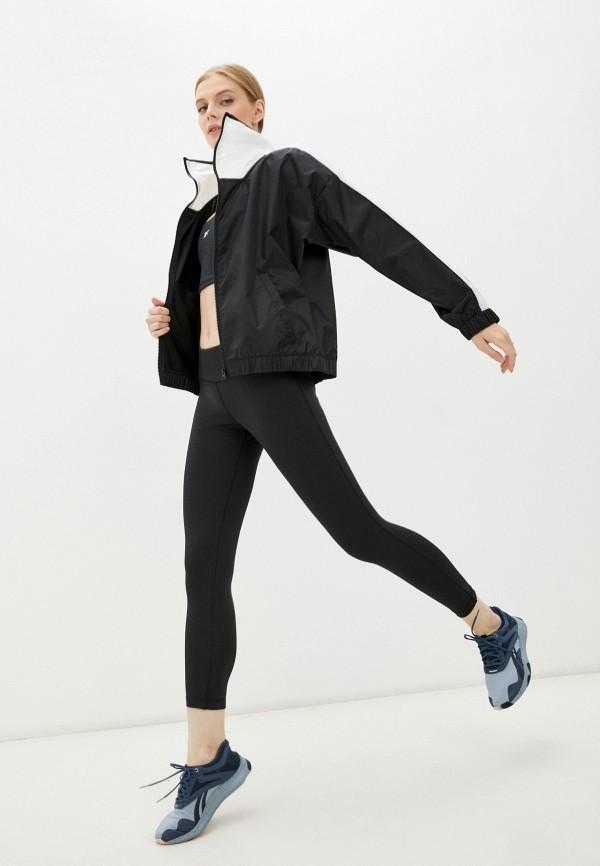 Костюм спортивный Reebok черного цвета