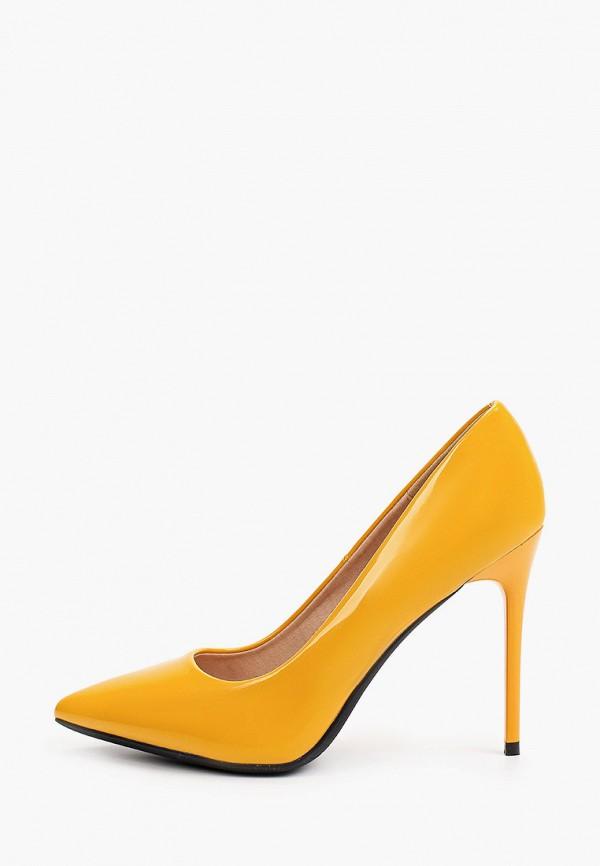 женские туфли-лодочки diora.rim, желтые
