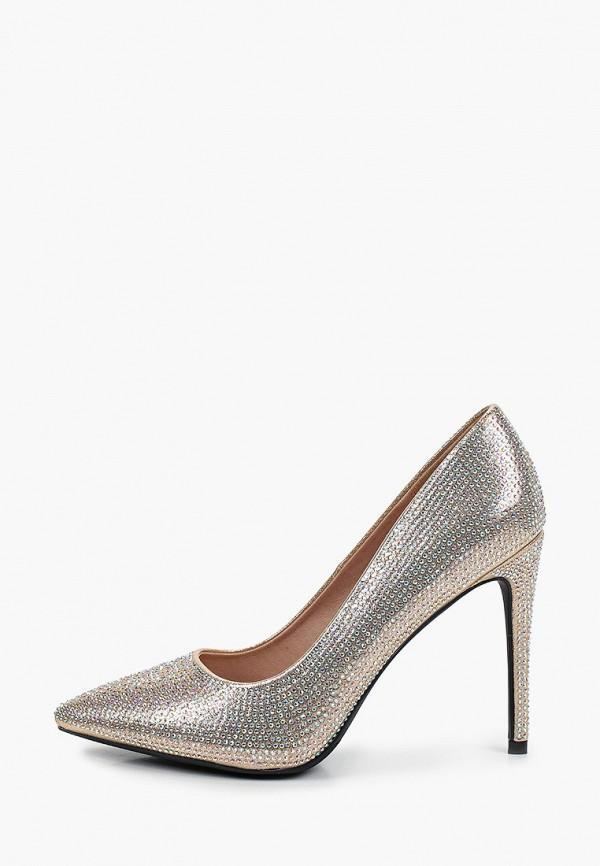 женские туфли-лодочки diora.rim, золотые
