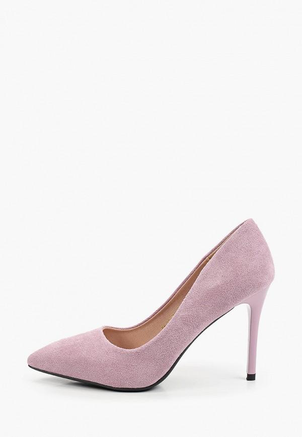 женские туфли-лодочки diora.rim, фиолетовые