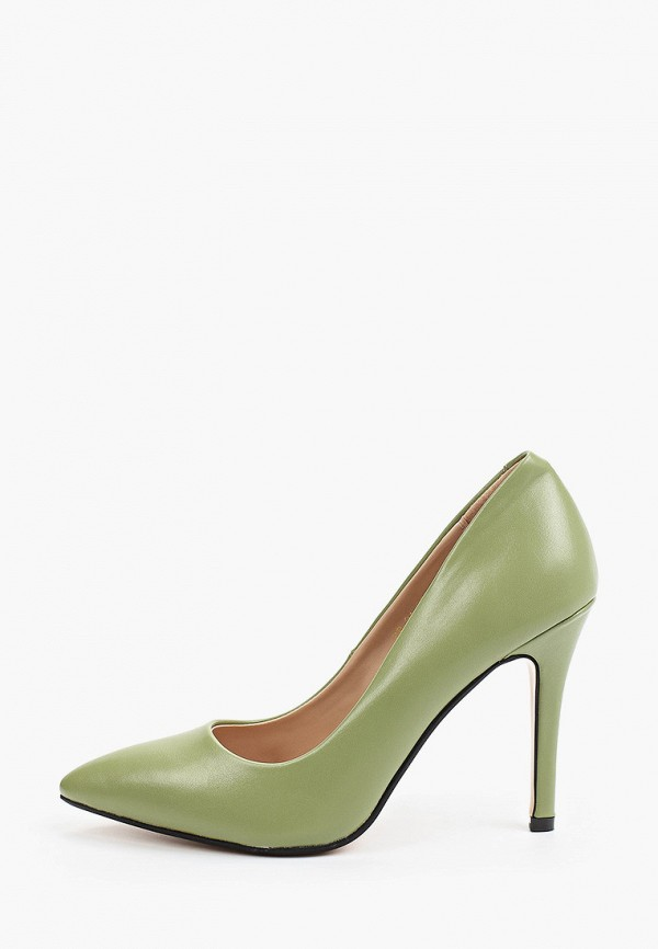 женские туфли-лодочки diora.rim, зеленые