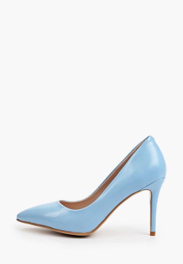 женские туфли-лодочки diora.rim, голубые