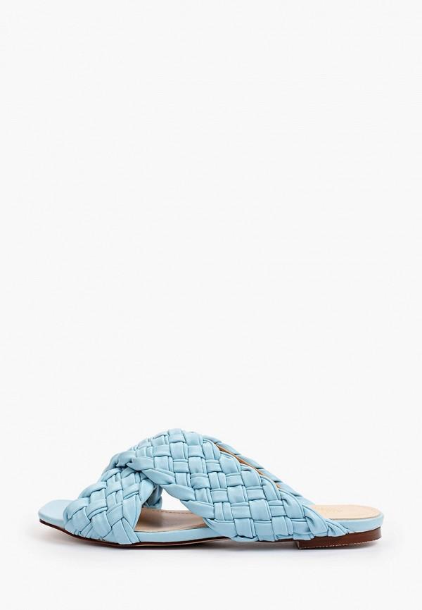 женское сабо diora.rim, голубое
