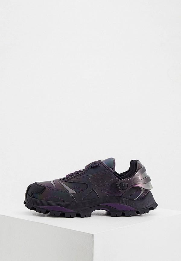 мужские низкие кроссовки emporio armani, фиолетовые