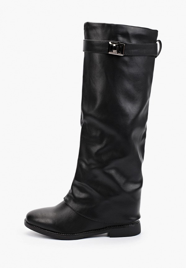 женские сапоги super mode, черные