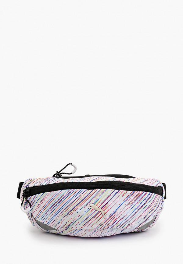 женская поясные сумка puma, белая