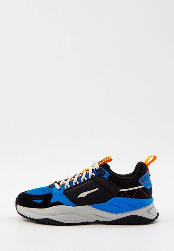женские низкие кроссовки puma, синие