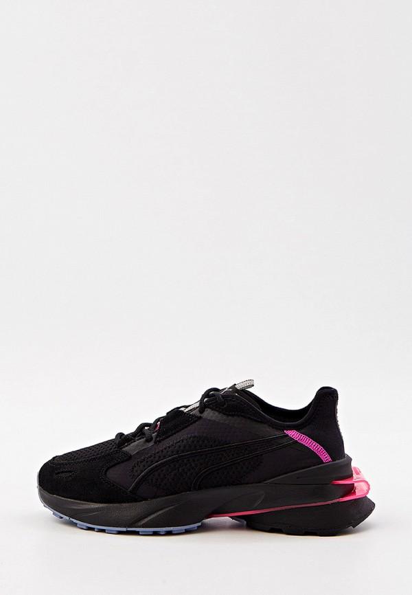 женские низкие кроссовки puma, черные