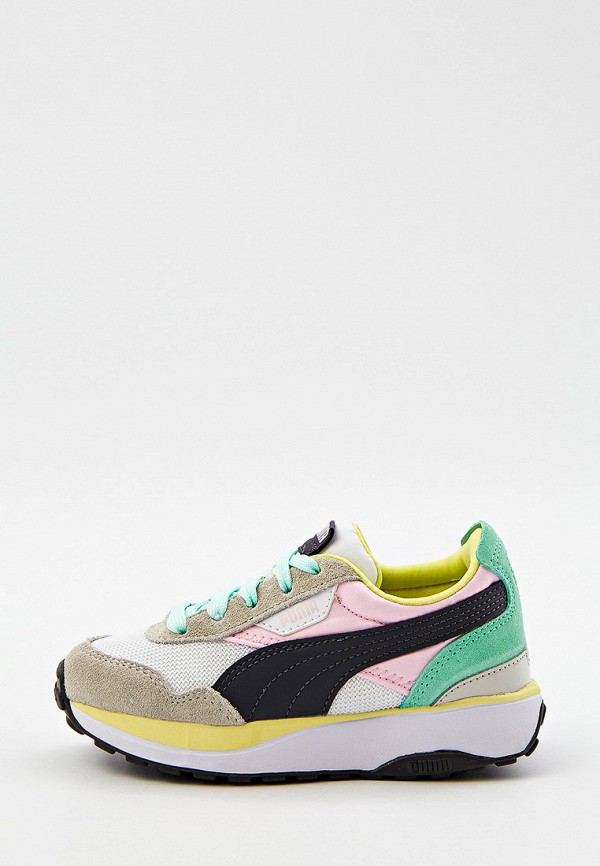 кроссовки puma для девочки, разноцветные
