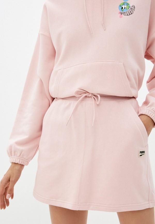 Юбка PUMA розового цвета