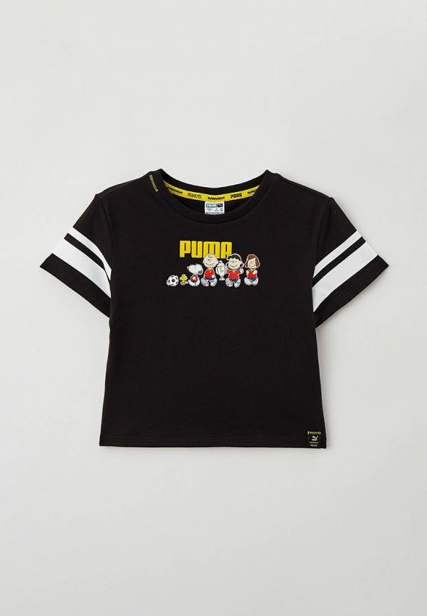 Футболка PUMA черного цвета
