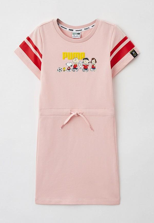 Платье PUMA розового цвета