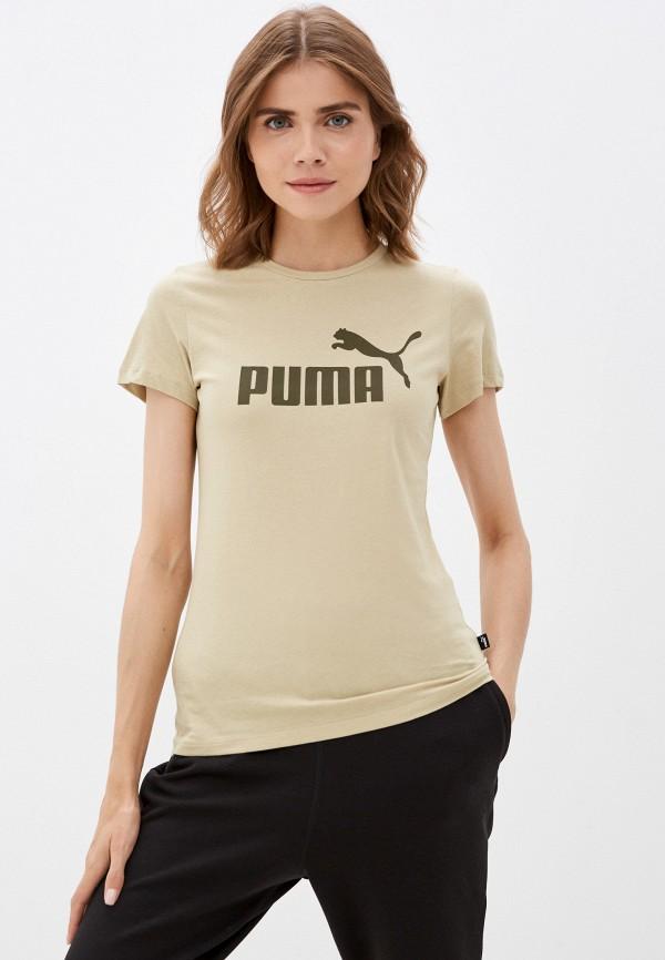 Футболка PUMA цвета хаки