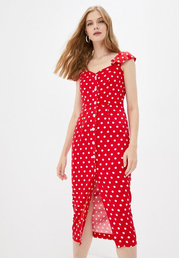 женский сарафан fridaymonday, красный