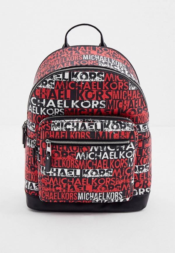 мужской рюкзак michael kors, красный
