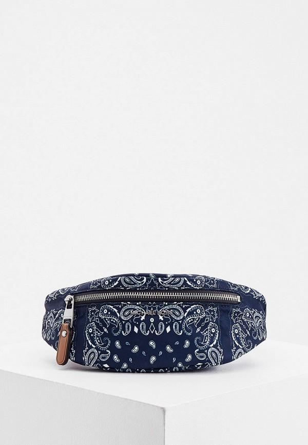 мужская поясные сумка michael kors, синяя