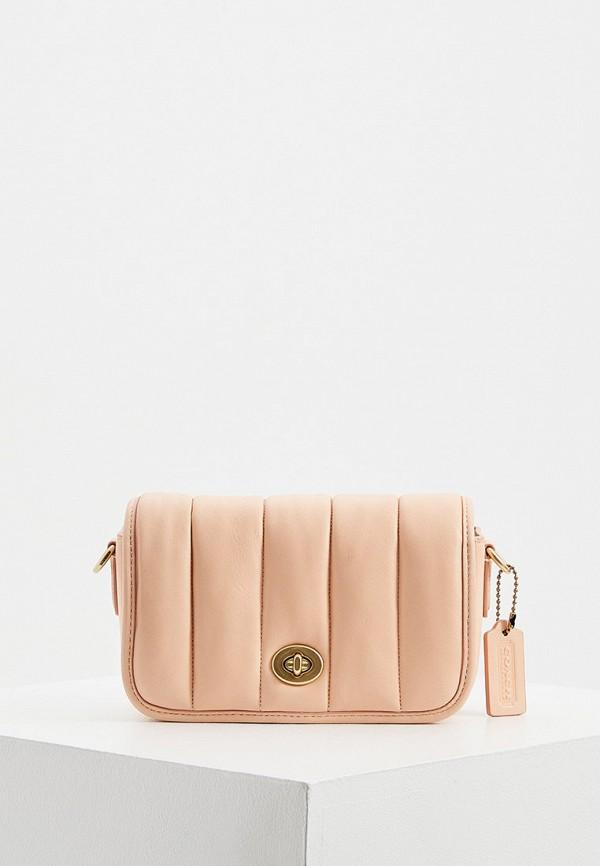 женская сумка через плечо coach