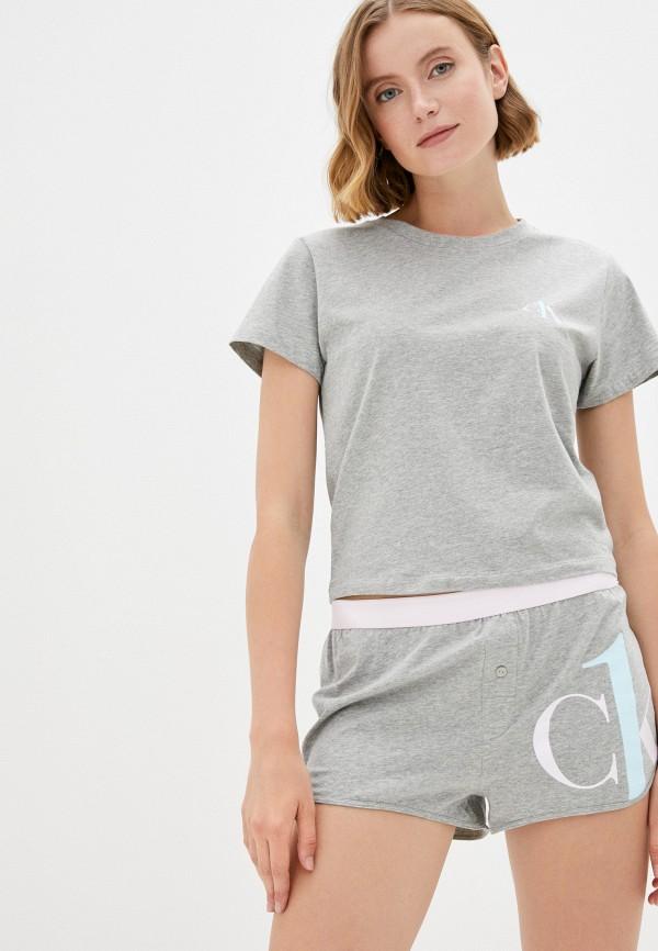 женская пижама calvin klein, серая