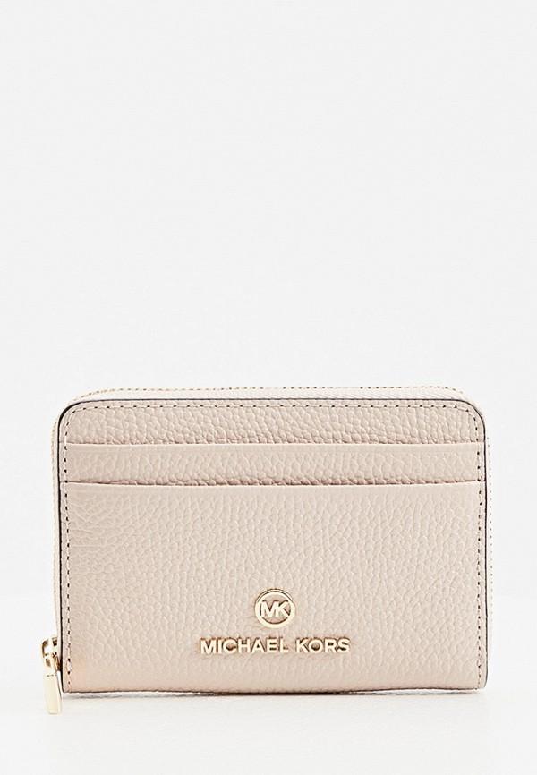женский кошелёк michael kors, розовый